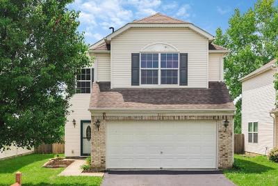 Canal Winchester Single Family Home Contingent Finance And Inspect: 3955 Boyer Ridge Drive