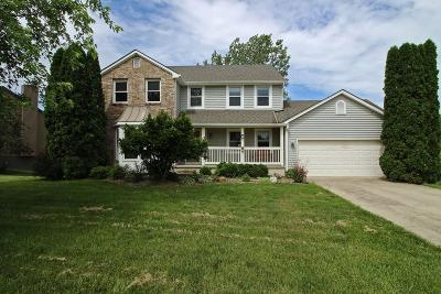 Pickerington Single Family Home For Sale: 9618 Wagonwood Drive NW