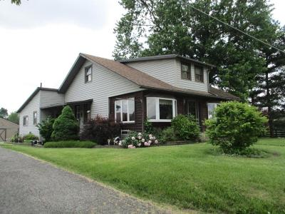 Marengo Single Family Home Contingent Finance And Inspect: 4440 State Route 229