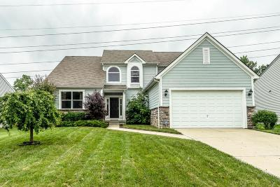 Reynoldsburg Single Family Home Contingent Finance And Inspect: 8182 Bellow Park Drive