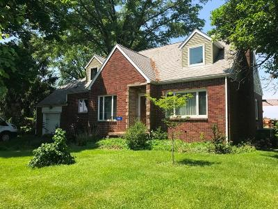 Danville Single Family Home Contingent Finance And Inspect: 14861 Millersburg Road