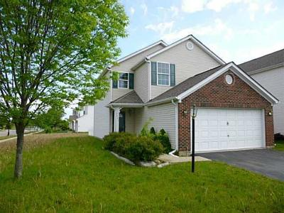 Hilliard Single Family Home Contingent Finance And Inspect: 5842 Stonepath Drive