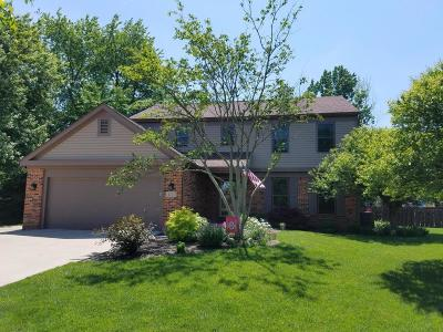 Grove City Single Family Home Contingent Finance And Inspect: 4723 Brae Lock Court