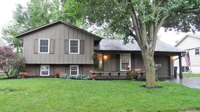 Hilliard Single Family Home Contingent Finance And Inspect: 5051 Grandon Drive