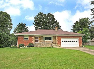 Mount Vernon OH Single Family Home For Sale: $125,000