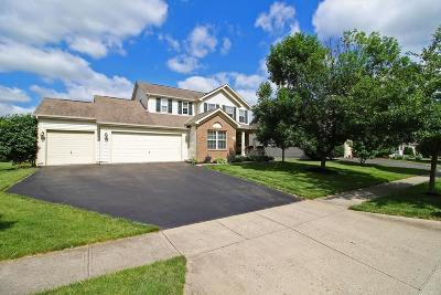 Canal Winchester Single Family Home Contingent Finance And Inspect: 7225 Bromfield Drive