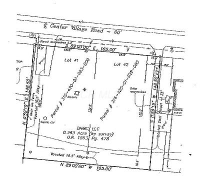 Galena Residential Lots & Land For Sale: 13398 Center Village Road