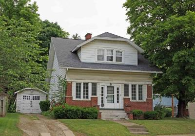 Mount Vernon OH Single Family Home For Sale: $74,900