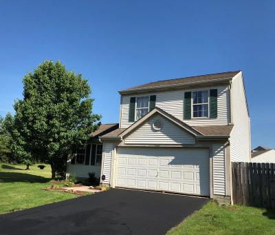 Blacklick Single Family Home Contingent Finance And Inspect: 7968 Windsome Court