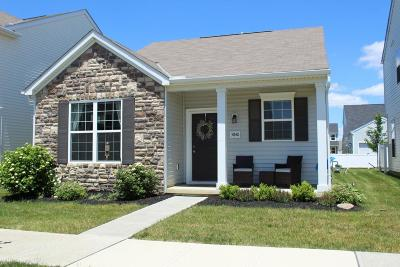 Dublin Single Family Home Contingent Finance And Inspect: 5840 Trail Creek Drive