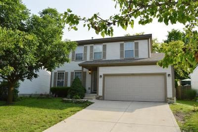 Pickerington Single Family Home Contingent Finance And Inspect: 3184 Southern Hills Drive