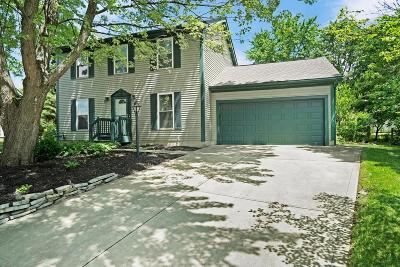 Hilliard Single Family Home Contingent Finance And Inspect: 5308 Carina Court