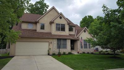 Hilliard Single Family Home Contingent Finance And Inspect: 4699 Huntwicke Drive