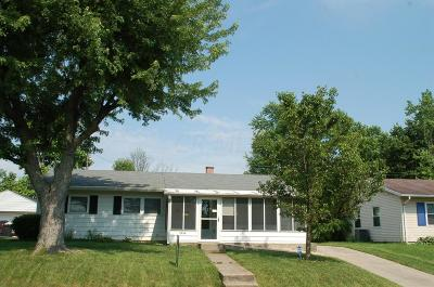 Dayton Single Family Home Contingent Finance And Inspect: 1230 Jeanette Drive