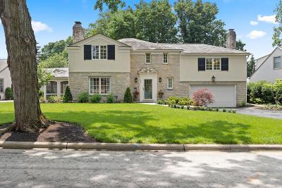Upper Arlington Single Family Home Contingent Finance And Inspect: 1987 Upper Chelsea Road