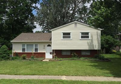 Hilliard Single Family Home Contingent Finance And Inspect: 5376 Carolyn Drive