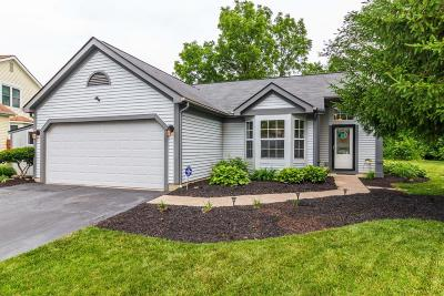 Pickerington Single Family Home Contingent Finance And Inspect: 7708 Hominy Hill Court