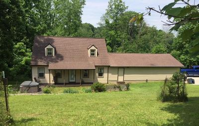 Sugar Grove Single Family Home Contingent Finance And Inspect: 7853 Dupler Road SE
