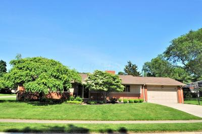Upper Arlington Single Family Home Contingent Finance And Inspect: 4150 Winfield Road