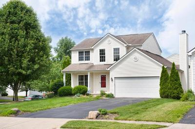 Blacklick Single Family Home Contingent Finance And Inspect: 7975 Brianna Drive