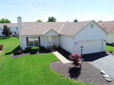 Hilliard Single Family Home Contingent Finance And Inspect: 2862 Quailview Lane