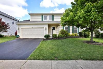 Hilliard Single Family Home Contingent Finance And Inspect: 4438 Jennydawn Place