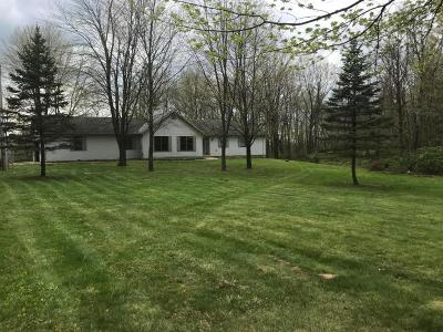 Marengo Single Family Home Contingent Finance And Inspect: 4160 County Road 15