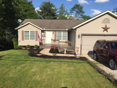 Howard Single Family Home Contingent Finance And Inspect: 14264 Monroe Mills Road