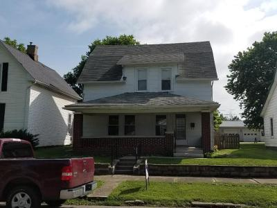 Washington Court House OH Single Family Home For Sale: $65,900