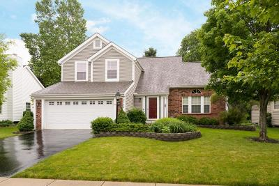 Hilliard Single Family Home Contingent Finance And Inspect: 3774 Stonesthrow Lane