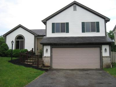 Dublin Single Family Home Contingent Finance And Inspect: 2929 Curtis Knoll Drive