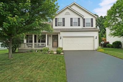 Reynoldsburg Single Family Home Contingent Finance And Inspect: 8442 Reynoldswood Drive