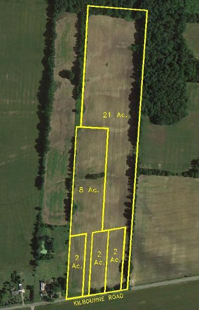 Sunbury Residential Lots & Land For Sale: Kilbourne Road #Tract 4