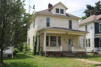 Mount Vernon Single Family Home Contingent Finance And Inspect: 107 N Division Street