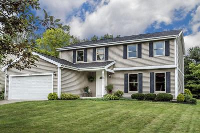Dublin Single Family Home Contingent Finance And Inspect: 6764 Fallen Timbers Drive