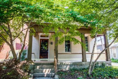Columbus Single Family Home For Sale: 1272 Hunter Avenue