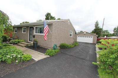 Reynoldsburg Single Family Home Contingent Finance And Inspect: 1213 Roundelay Road E