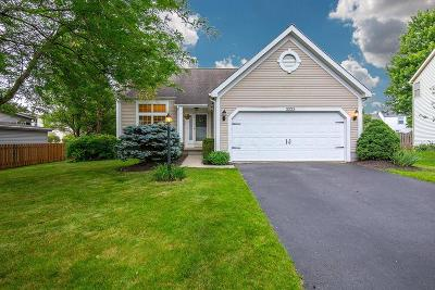 Hilliard Single Family Home Contingent Finance And Inspect: 3223 Prairie Gardens Drive
