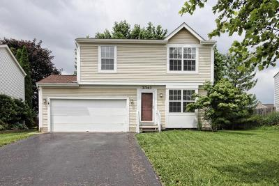Hilliard Single Family Home Contingent Finance And Inspect: 3341 Paradise Avenue