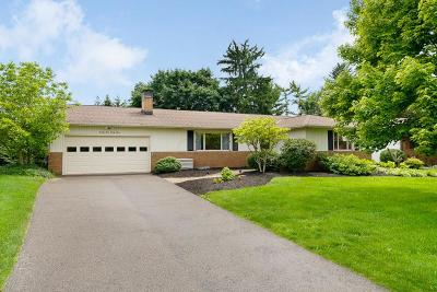 Upper Arlington Single Family Home For Sale: 2433 Eastcleft Drive