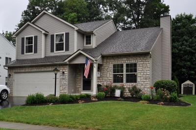 Pickerington Single Family Home Contingent Finance And Inspect: 658 Norfolk Square N