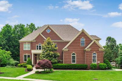 Pickerington Single Family Home Contingent Finance And Inspect: 12478 Brook Forest Court