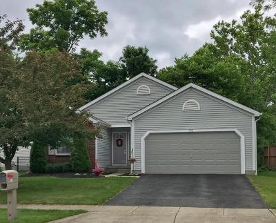 Blacklick Single Family Home Contingent Finance And Inspect: 382 Windsome Drive