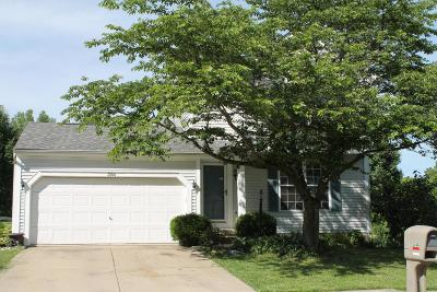 Hilliard Single Family Home Contingent Finance And Inspect: 3544 Vintage Woods Drive