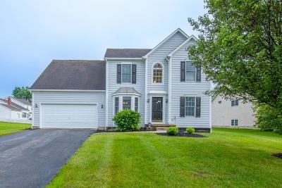 Hilliard Single Family Home Contingent Finance And Inspect: 6213 Barley Oaks Road