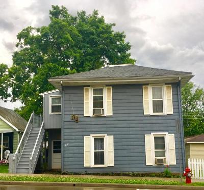 Lithopolis Single Family Home Contingent Finance And Inspect: 67 E Columbus Street