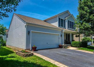 Lewis Center Single Family Home Sold: 8595 Clover Glade Drive