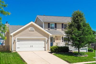 Hilliard Single Family Home Contingent Finance And Inspect: 5212 Westbreeze Court