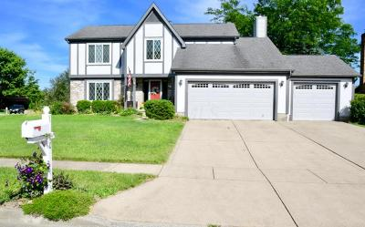 Reynoldsburg Single Family Home Contingent Finance And Inspect: 1110 Starlight Drive