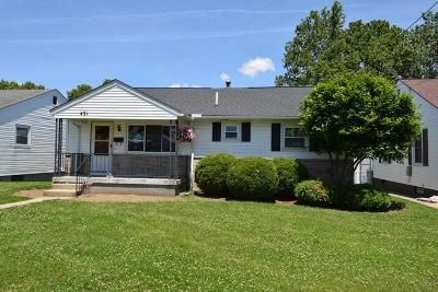 Lancaster Single Family Home For Sale: 431 Reese Avenue